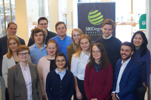Student consultants at 180DC Helsinki branch
