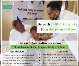 Physicians for Social Responsibility Finland - LSV
