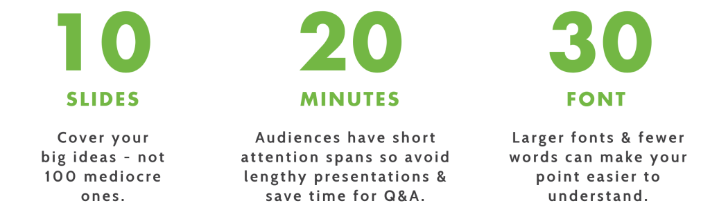 8 tips for creating and delivering effective presentations